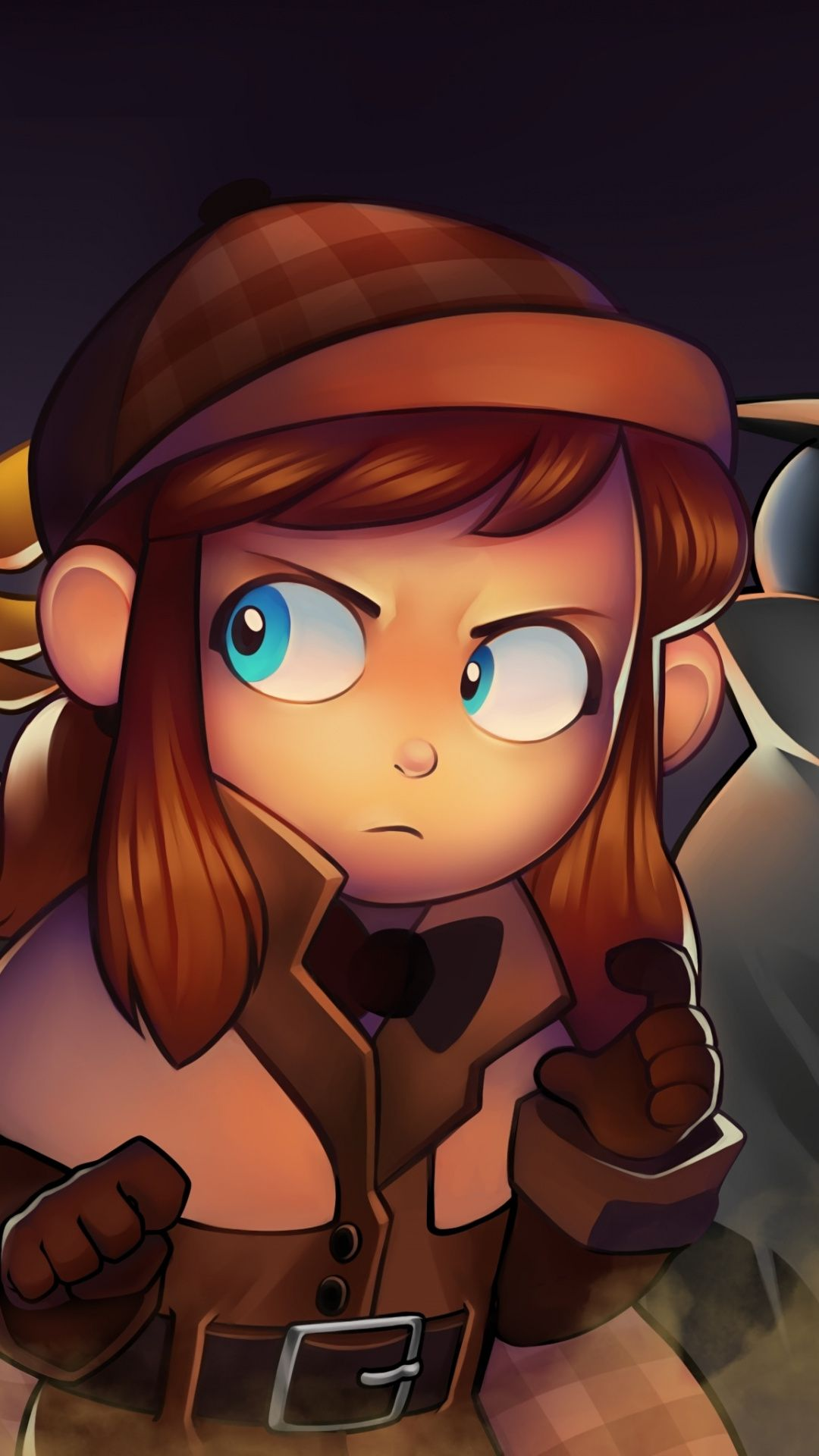 Girl, A Hat in Time, video game, 1080x1920 wallpaper