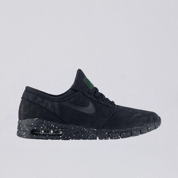 Nike SB Stefan Janoski Max Black Black Pine Green Pre