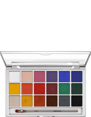 Coloring Vision Paleta 18 Colores Kryolan Professional Make Up Marcas De Maquillaje Profesional Sombras De Ojos Maquillaje Profesional