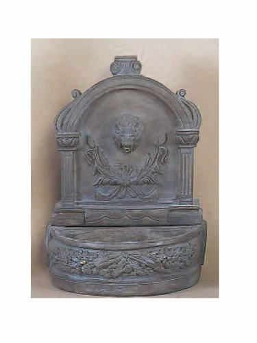 Indoor/Outdoor Stone Tabletop Fountains: Giannini Garden Ornaments: Lion  Tabletop