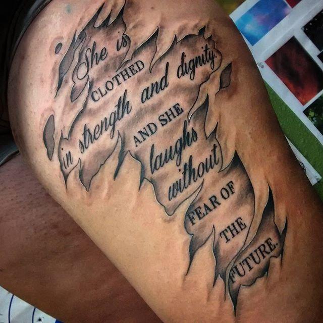 Meaningful Tattoos Ideas Tattoospedia Scroll Tattoos Epic Tattoo Tattoos For Guys