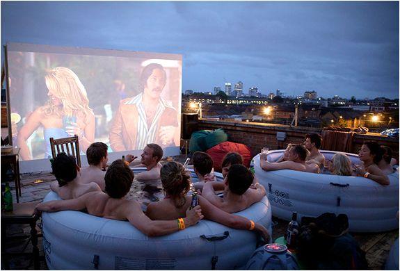 Resultado de imagen para Hot Tube Cinema, Inglaterra
