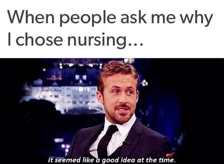 Lol Funny But I Love My Job Nurse Memes Humor Nursing School Memes Nursing Student Humor
