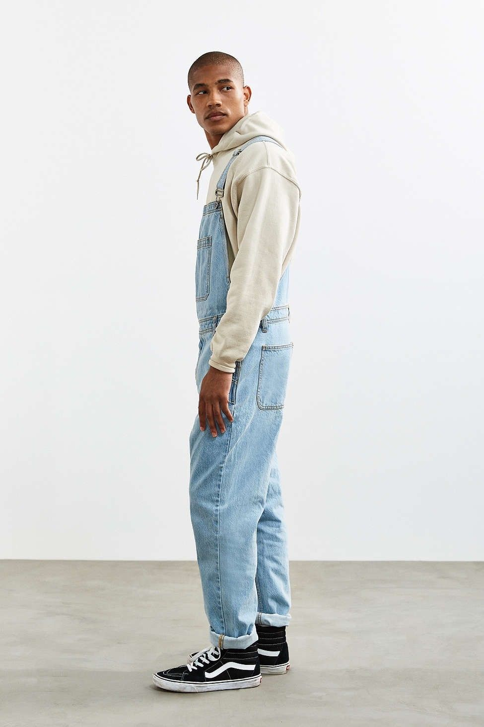 8e597a14484 Urban Outfitters Bdg Light Stonewash Denim Overall - 34