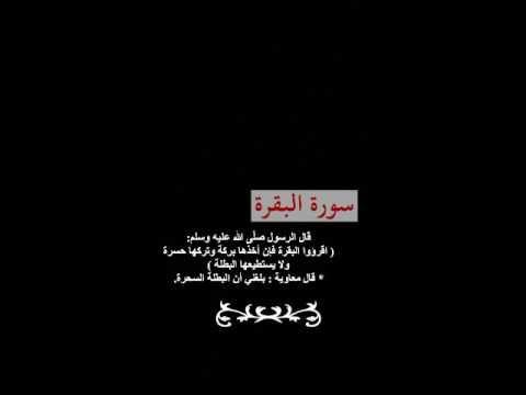 Surah Albaqara Abdulwadood Haneef سورة البقرة عبدالودود حنيف Top Videos Youtube Videos Youtube