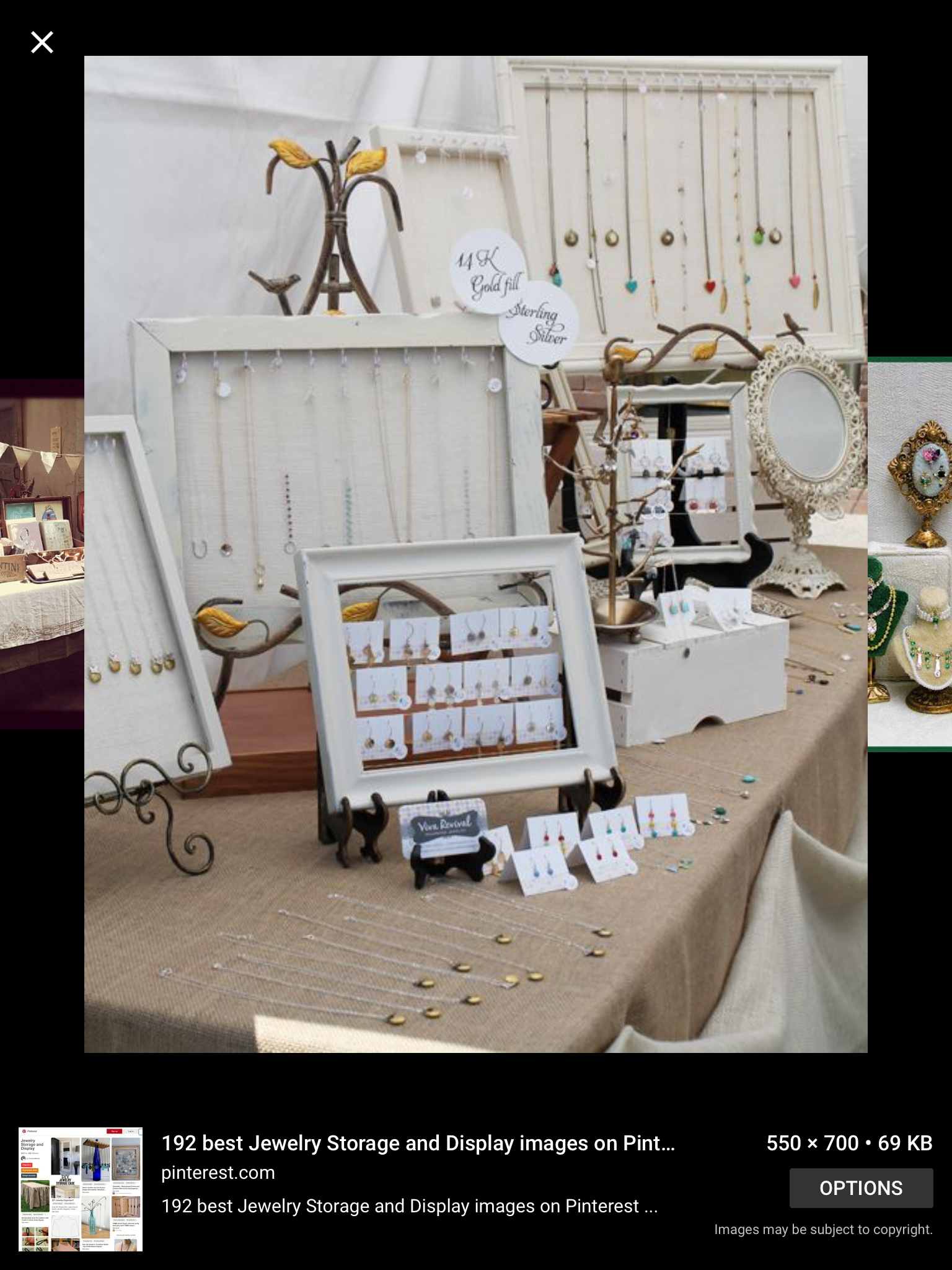 Pin By Kathy Konyha Summers On Jewellery Display Craft Show Table Craft Show Displays Jewerly Displays