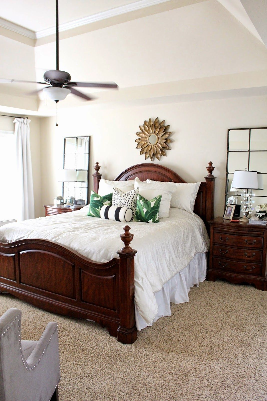 TiffanyD: Some Master Bedroom Details Decor Ideas   I Love The Idea Of  Splurging On A Great, Neutral Bedding Set So You Can Cheaply Change Up The  Feel Of ...