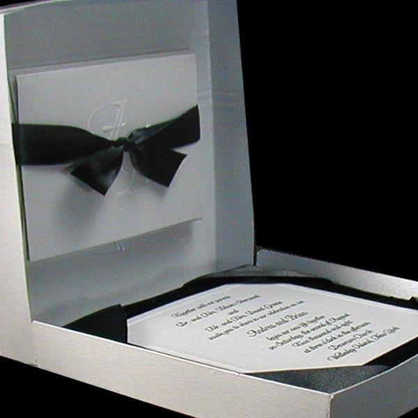 Couture Boxed Wedding Invitation