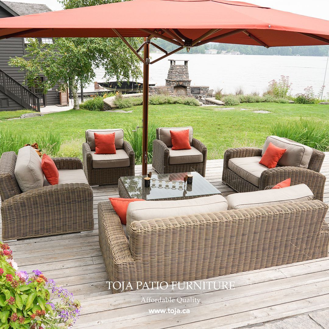 What Are Your Plans This Labour Day Weekend We Hope It Involves At Least A Little Bit Of Ti Outdoor Furniture Style Rattan Patio Furniture Outdoor Patio Decor