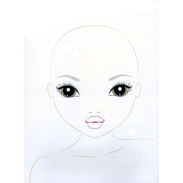 top model make up studio model doll makeup