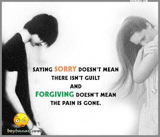 Sorry Quotes And Sorry Sayings Boy Banat Im Sorry Sorry Quotes