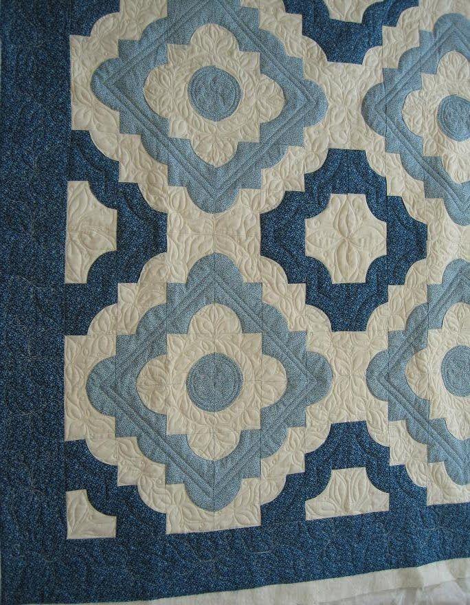 Drunkard's Path quilt | Quilts | Pinterest | Paths, Patchwork and ... : blue quilts pinterest - Adamdwight.com