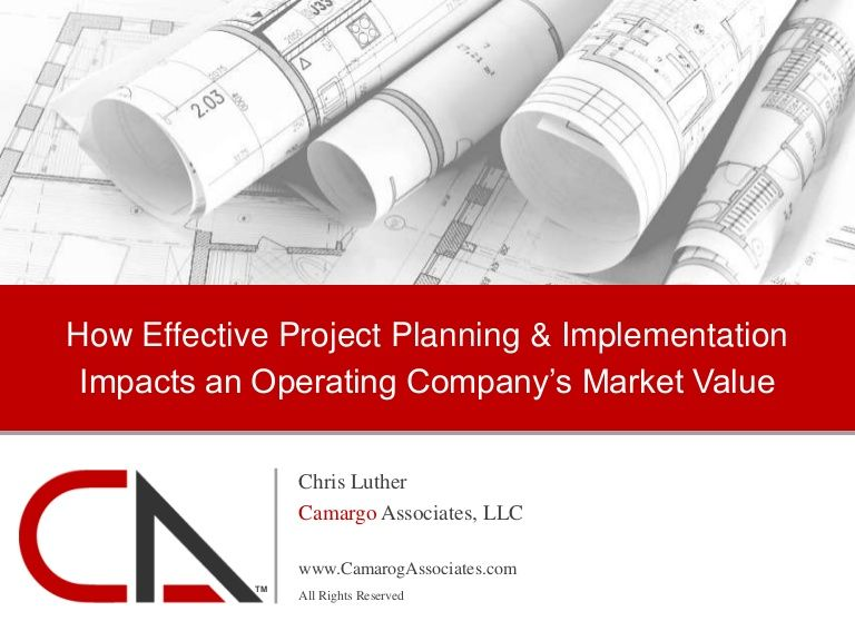 How Effective Project Planning  Implementation Impacts An