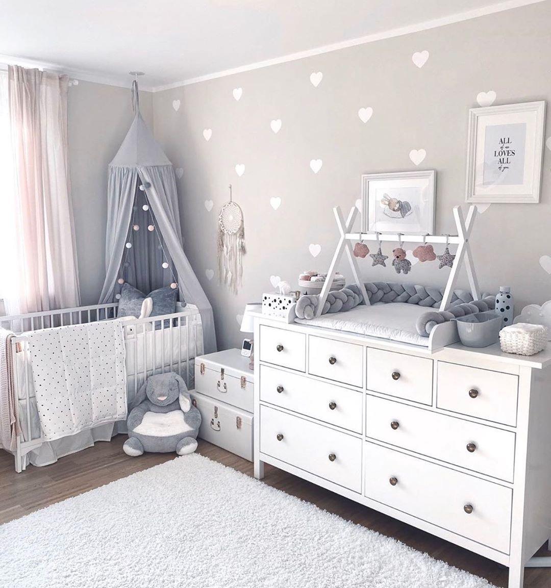 """Fantasyroom on Instagram: """"So ein schönes Babyzimmer bei � @jenna_franke ️ Der Tipi-Spielbog..."""