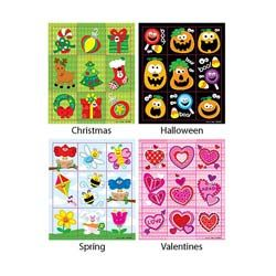 Holiday Prize Pack Stickers Set $5.14