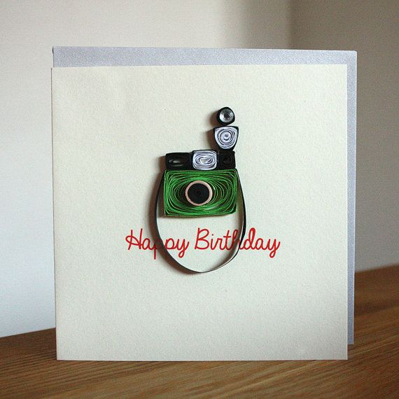 Vintage Camera Cards Set of 6 Unique by SweetSpotCardShop 2495 – Photographer Birthday Card