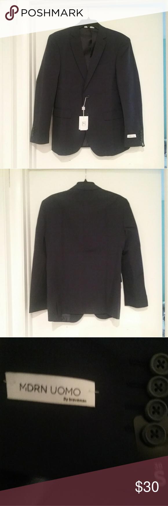 Men S Slim Fit Suit Jacket 38s 32w Slim Fit Suit Men Slim Fit Suit Fitted Suit