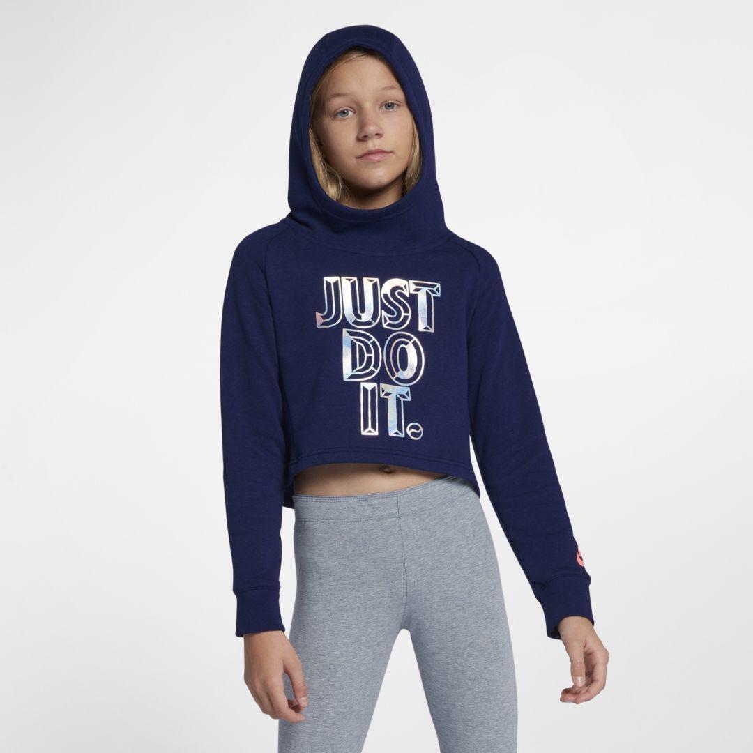 Sportswear Big Kids' (Girls') JDI Cropped Hoodie   Products