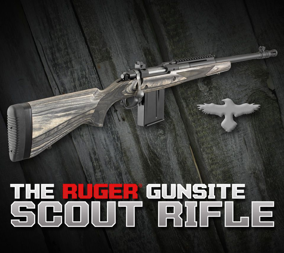 Ruger Gunsite Scout .308 Win