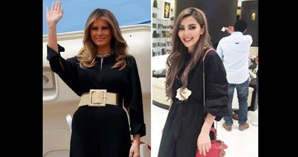 When America's first lady's visited Saudi Arabia without a wearing a head covering she prompted headlines across the globe on Saturday — but many in the Kingdom took to social media to commen…