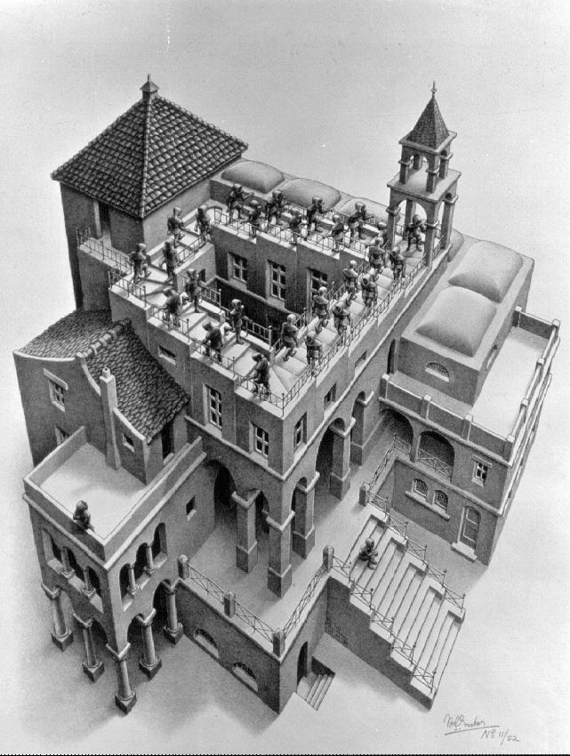 Picture Gallery Escher Art Mc Escher Optical Illusions