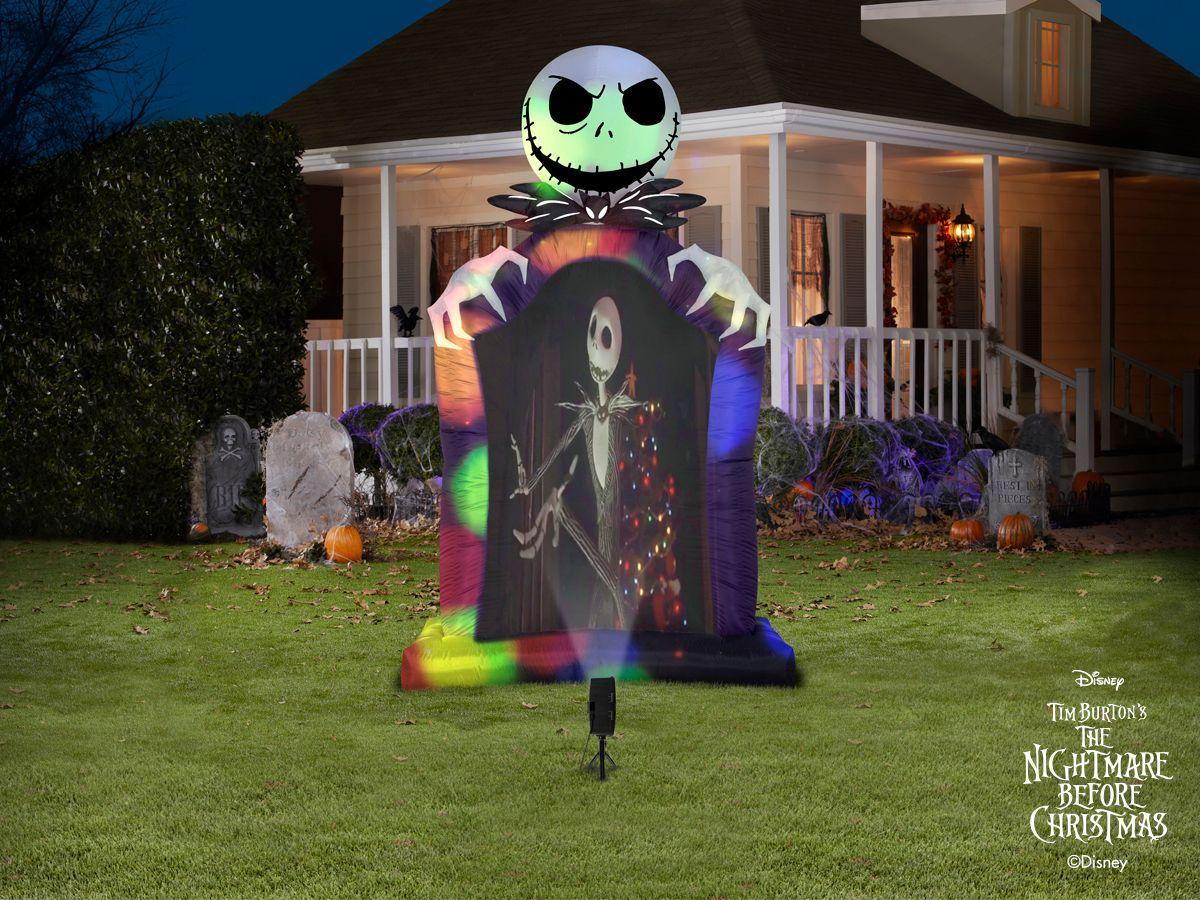Jack Skellington Airblown® Projection Set Nightmare