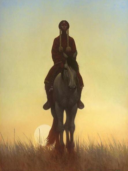 Kiowa Dawn