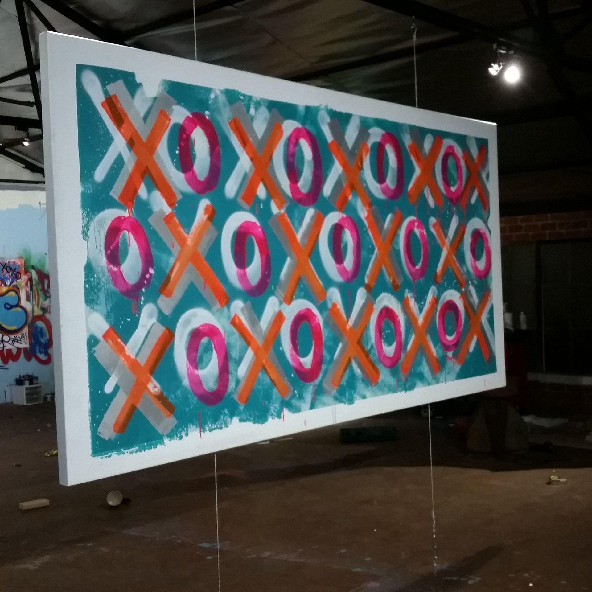 Graffiti art xoxo collection wall decor pinterest graffiti art