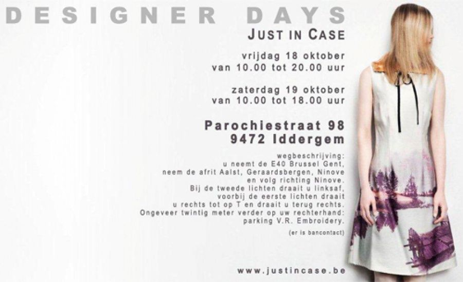 Stockverkoop Just in Case -- Iddergem -- 18/10-19/10