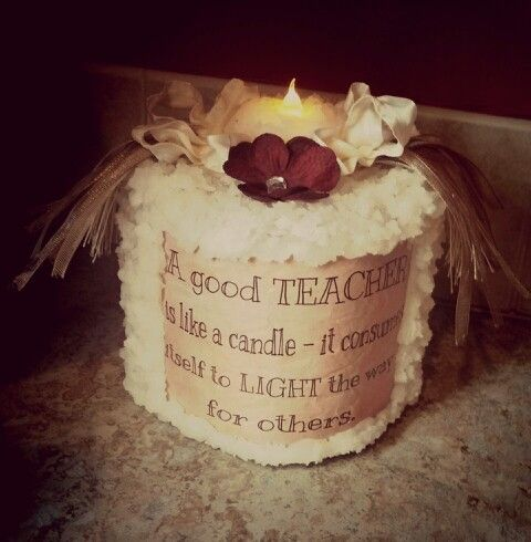 DIY TP candle