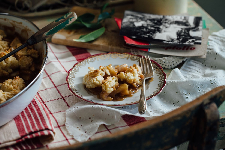 Old Fashioned Apple Pan Dowdy Recipe Food Fall