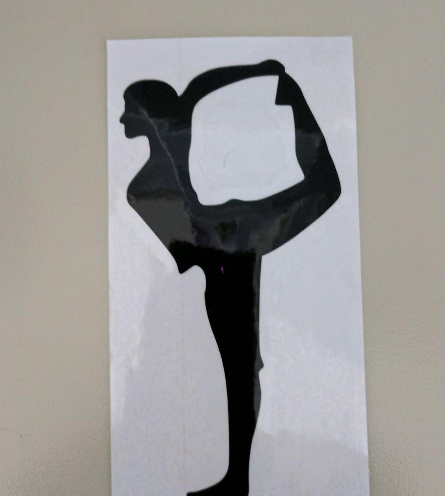 Woman silhouette decal removable wall sticker home decor art ebay - Girl Ballet Dance Fitness Light Switch Decal Sticker Home Decor