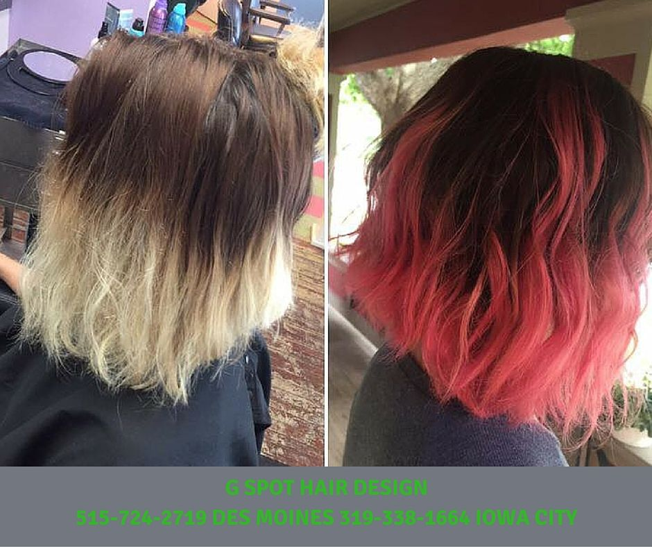 Pretty Mocha To Cotton Candy Davines Color Maskwithvibrachrome G Spot Hair Design Iowa City Des Moines And Chicago Hair Designs Hair Styles Dyed Hair