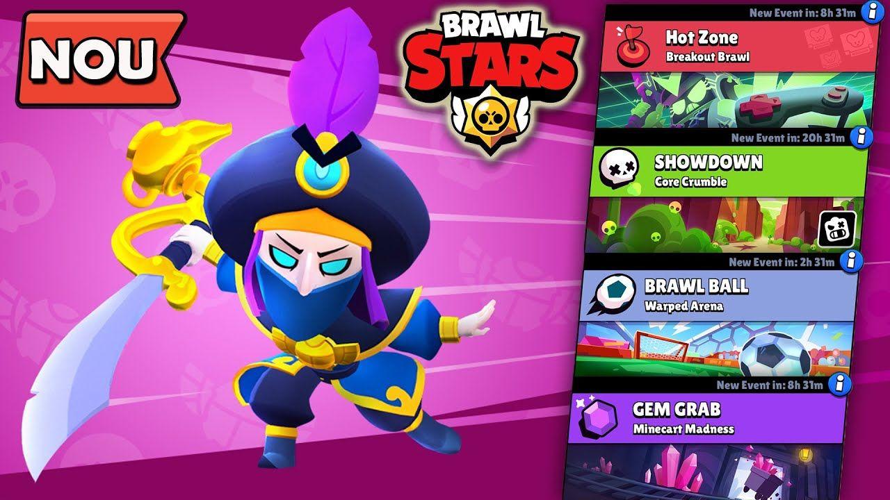 Noul Skin Rogue Mortis In Fiecare Game Mode Brawl Stars Nel 2020
