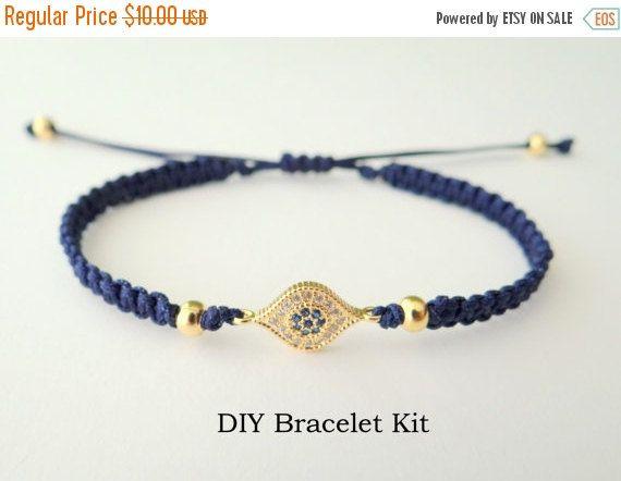 Macrame Tutorial Makes 1 Bracelet Bracelet Making Kit Faith Bracelet Kit Macrame Bracelet Pattern Do It Yourself Bracelet Craft Kit
