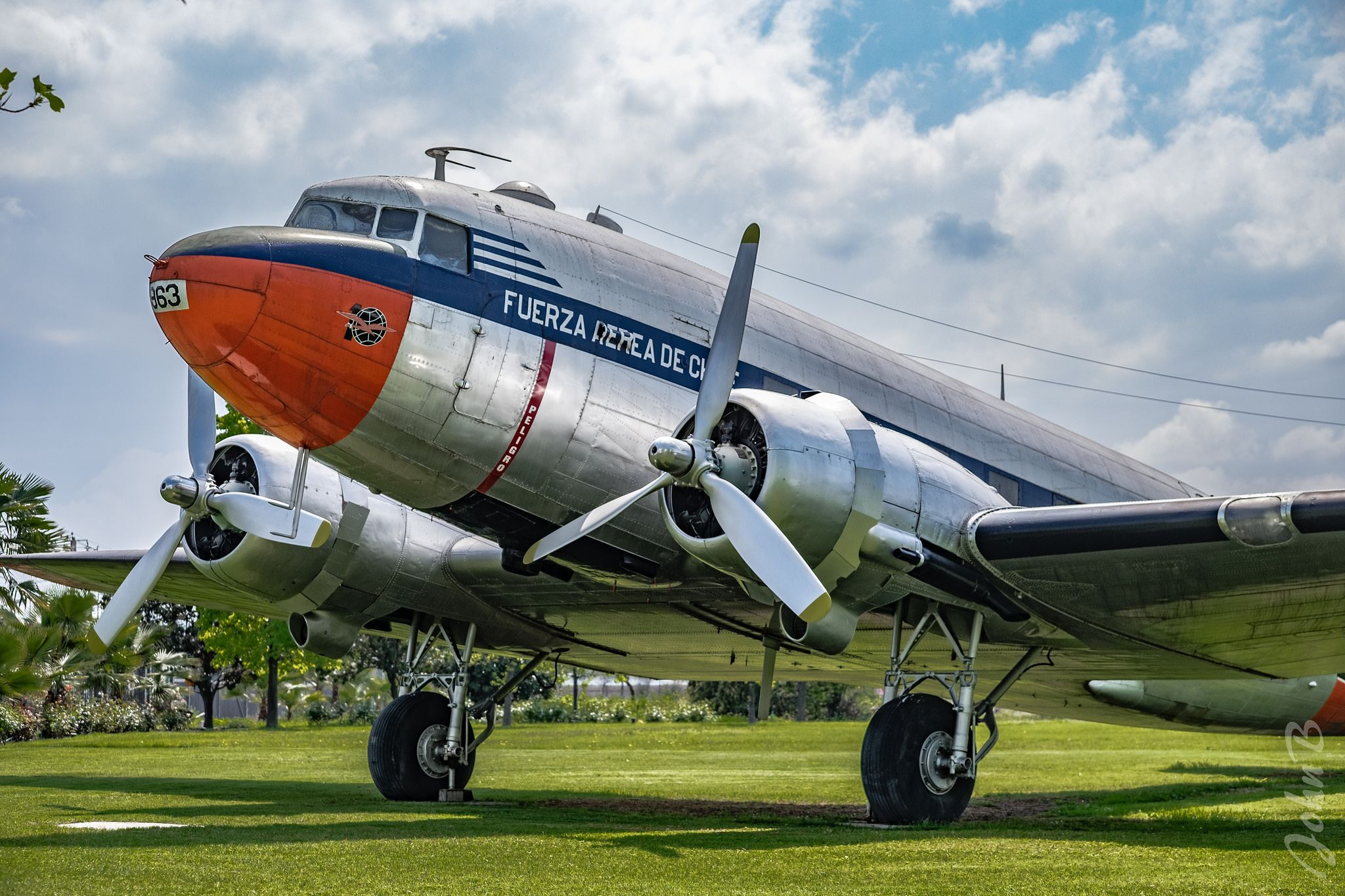 Douglas C47 ExFuerza Aérea de Chile Museo Nacional