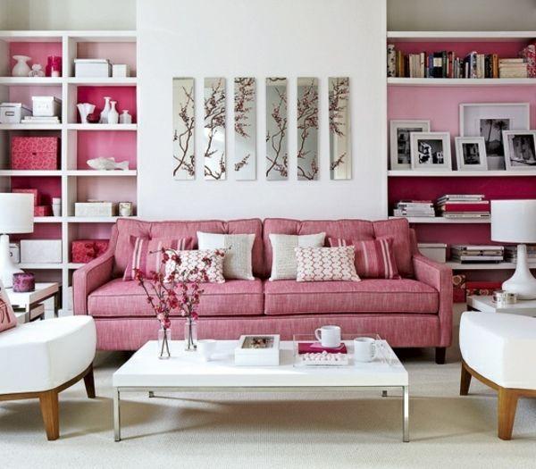Pink u003c3 Home \/ DIY Pinterest Zimmer einrichten, Rosa und - wohnzimmer romantisch einrichten