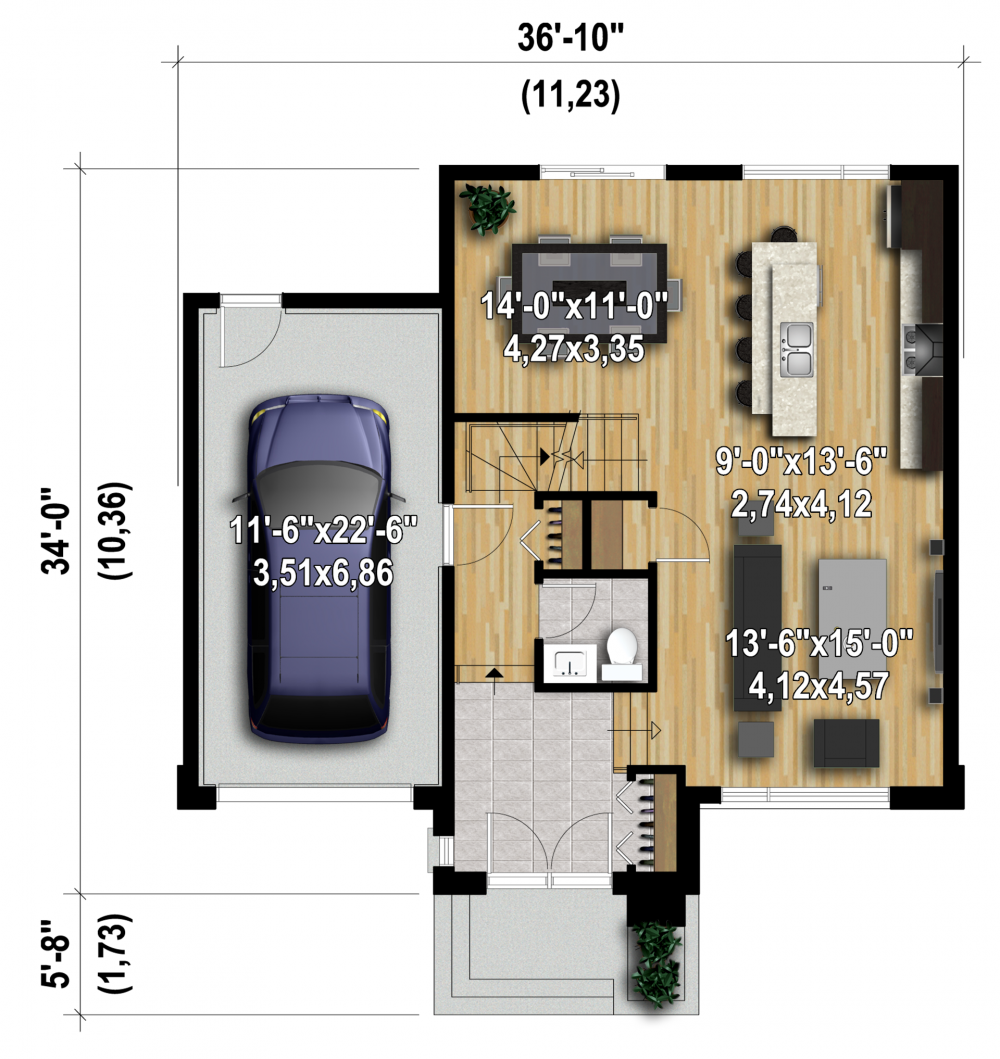 Plan Image Used When Printing Building Small Homes N Cabins In