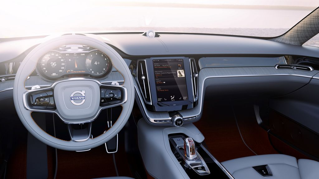Volvo Concept Estate Voiture, Le corps