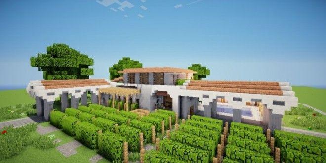 Mediterranean Wine Store Grapes Minecraft Farm Minecraft Houses Minecraft Plans