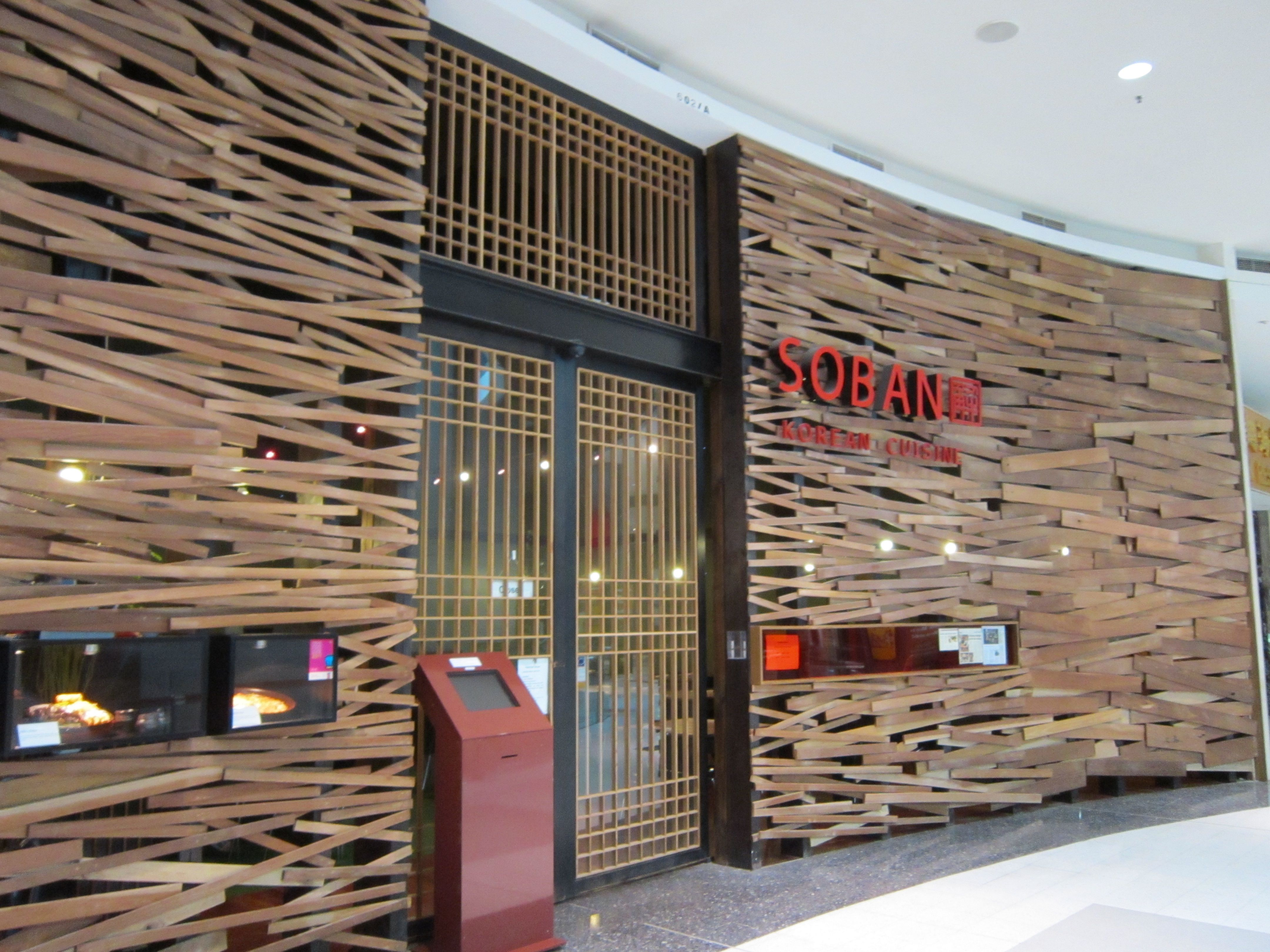 soban korean cuisine, australiawestfield shopping centre
