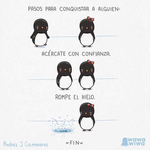 #Humor Pasos para conquistar a alguien.