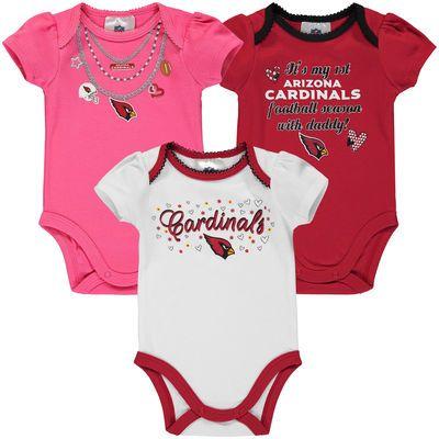 Girls Infant Cardinal/White/Pink
