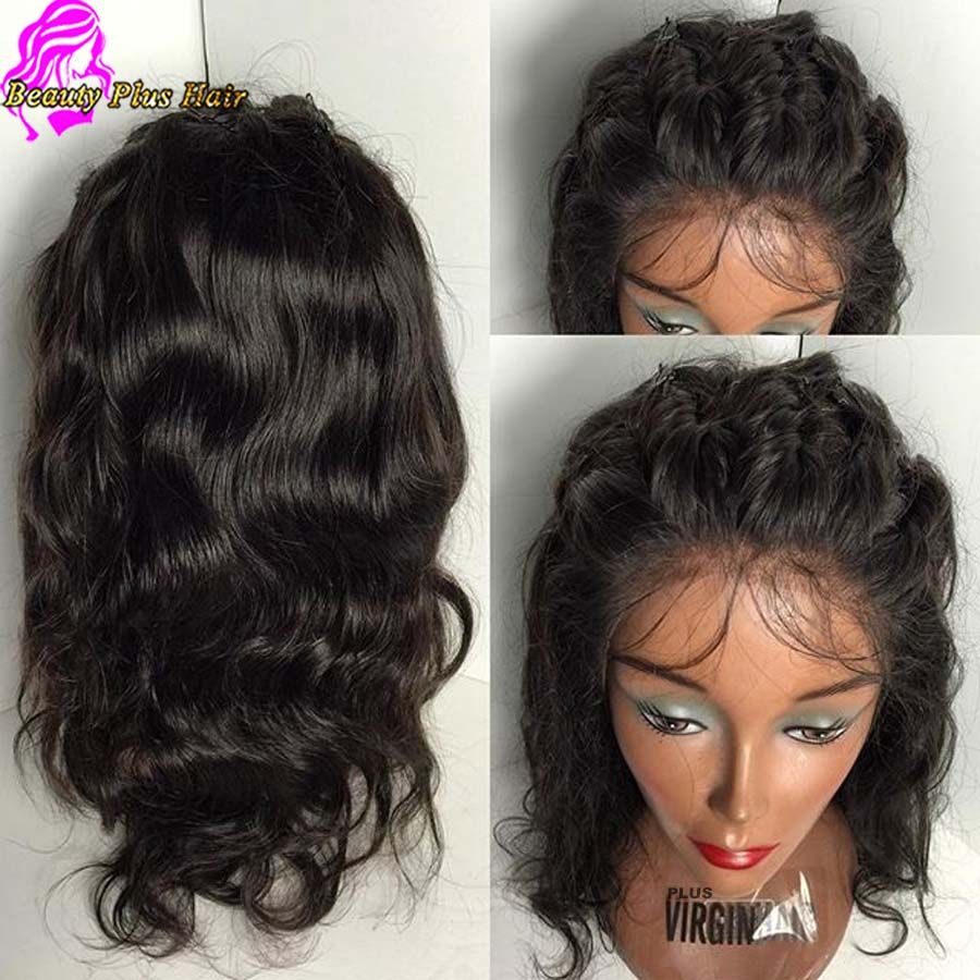7a Short Lace Front Wigs Natural Wave Malaysian Wigs Wtih Baby Hair Virgin Human Hair Glueless Front Lace Wigs Human Hair Short Lace Front Wigs Human Hair Wigs