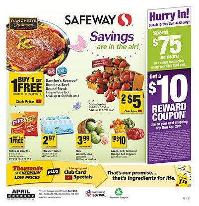 picture about Safeway Printable Coupons named Safeway Grocery Coupon codes guide coupon discounts Grocery