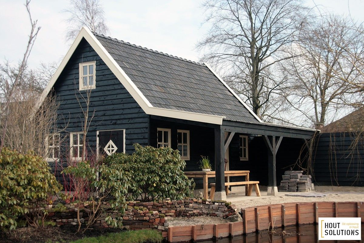 Schuur garage bouwpakket prijs google zoeken tuin for Prijs veranda