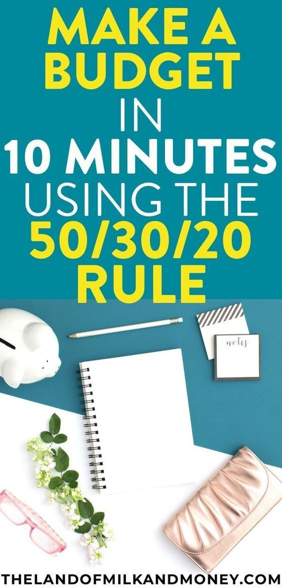 How To Make A Budget Plan? Why The 50/30/20 Rule Is What You Need