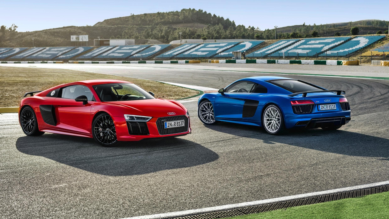 Red And Blue 2016 Audi R8 V10 Plus Chcem si kºpiÅ¥