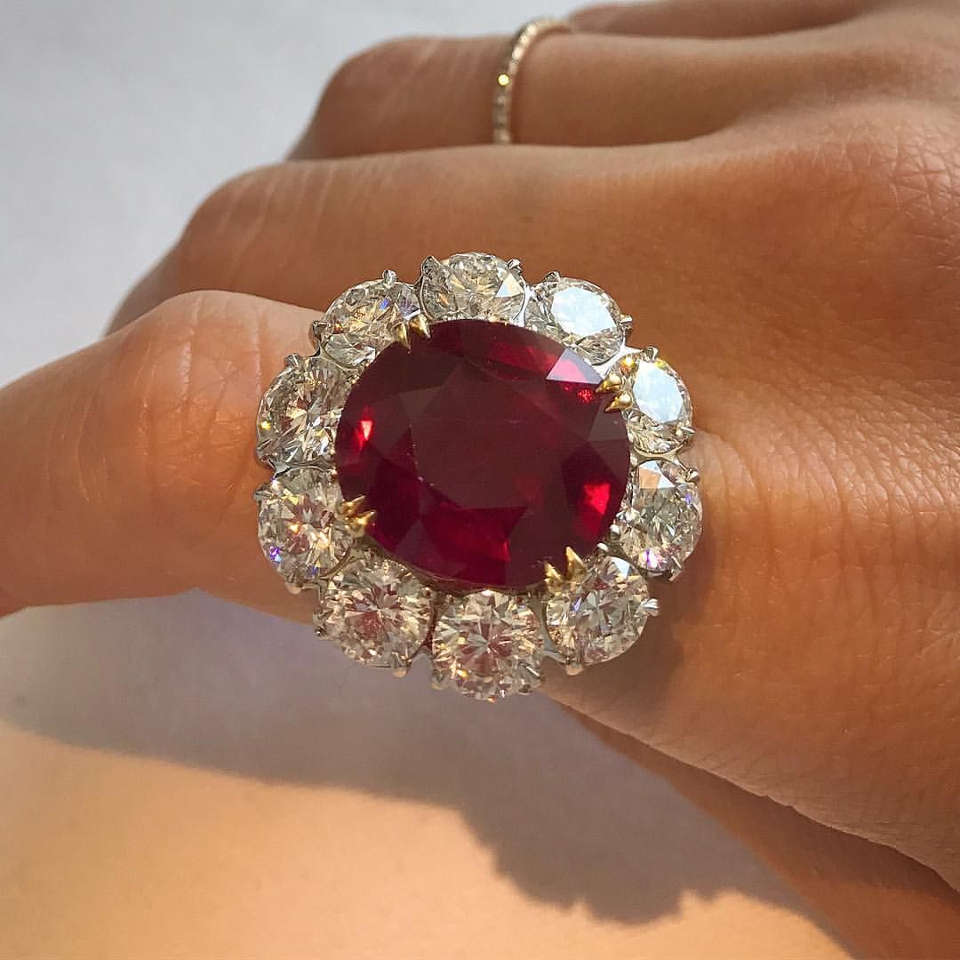3fbfc4a9cad5a Magnificent Burma ruby 15.03 carats (no heat) estimate  10-15m. One of the  star lots from our Magnificent Jewels auction