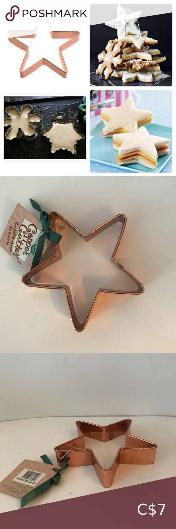 XL Copper Cookie Cutter/Sandwich & Pancake Maker
